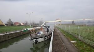 30 Sluis op de Saône.