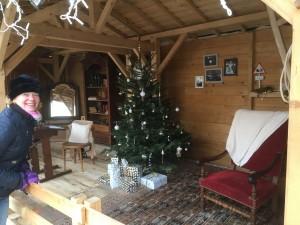 14 Het huis van de kerstman.