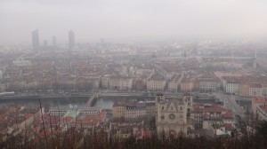 12 Uitzicht over Lyon vanaf Fourviére