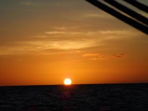 (01) Ondergaande zon