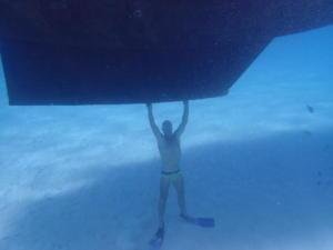07 2 meter water onder de kiel