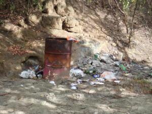 15 Afval op Hog Island