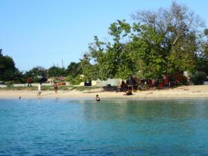 Mooie baai van Oracabessa
