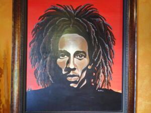 Bob Marley bij hem thuis