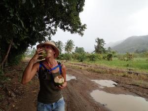 (41) kokosnoot drinken