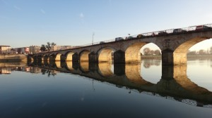 21 De brug van Macon.