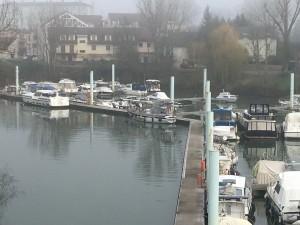 11 De haven van Chalon sur Saône.