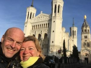 13 De Basilique op de achtergrond