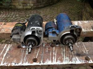 startmotor en reserve startmotor
