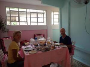 Vinales. Ontbijt bij een Casa di Particular