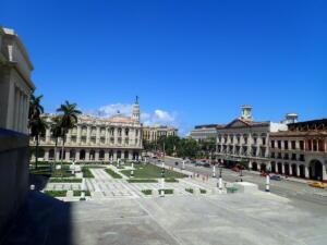 Havana, uitzicht vanuit het Theater