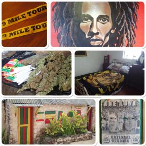 Bob Marley Geboortehuis bij Nine Miles