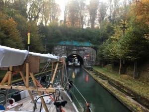04 Aan de ketting door de tunnel van Riqueval