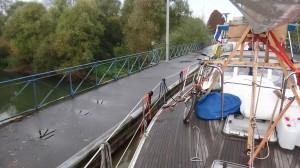 20 Aquaduct bij Abbecourt in het Canal de L'oise a  L'aisne