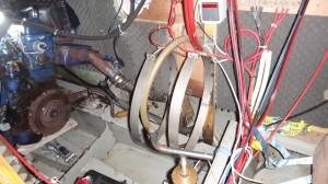 motorruimte zonder boiler