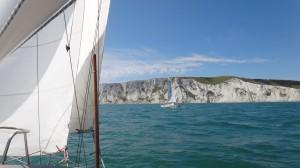 de white cliffs vanaf zee