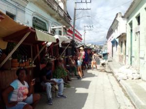 marktstrateeg in Santiago de Cuba